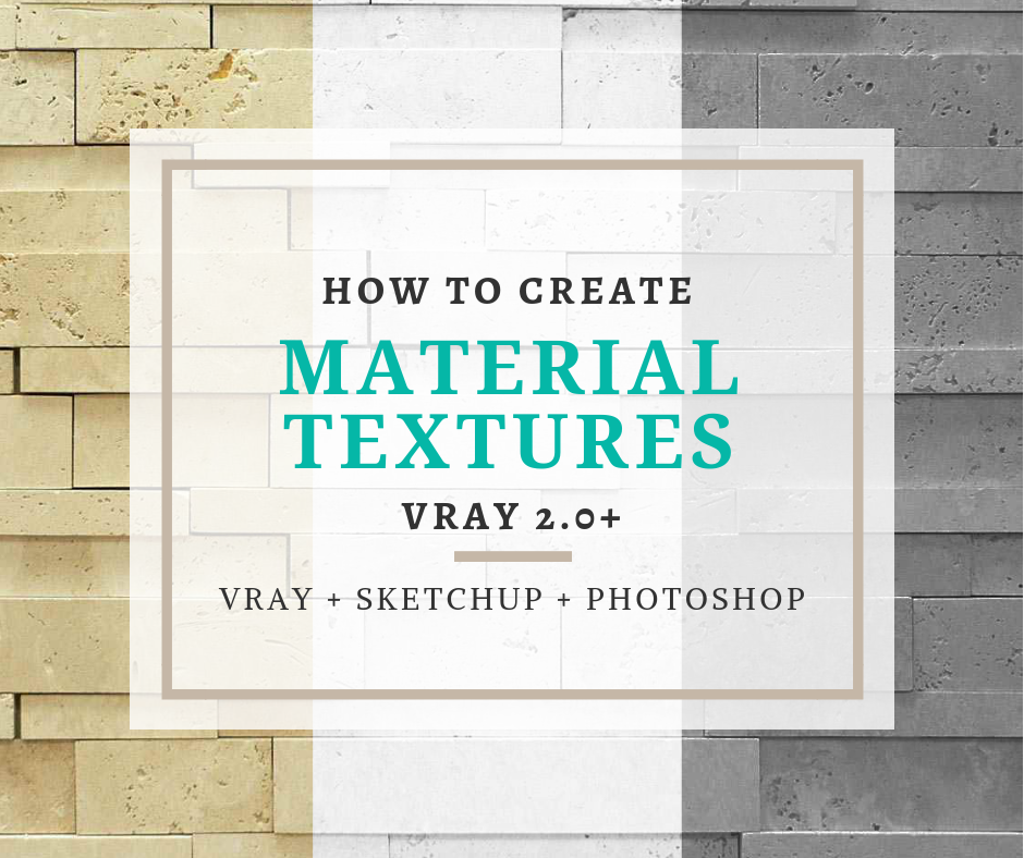 How to Create Your Own Materials For VRay 2 0+ – Ravenor's Design
