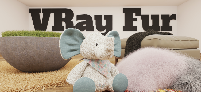 How to Use VRay Fur